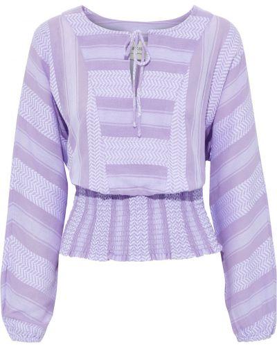 Хлопковая блузка - сиреневая Cecilie Copenhagen