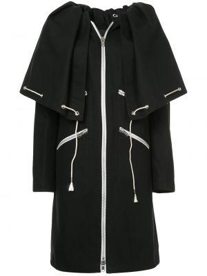 Свободное черное пальто свободного кроя Calvin Klein 205w39nyc