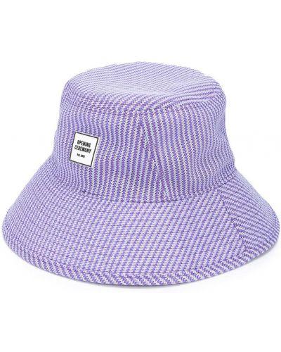 Fioletowy kapelusz z siateczką Opening Ceremony