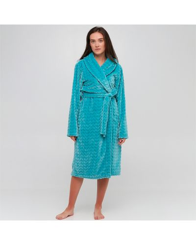 Домашний халат - синий Naviale
