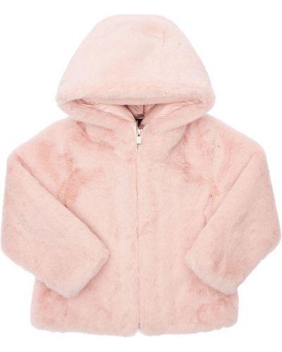 Розовая куртка с манжетами Bomboogie