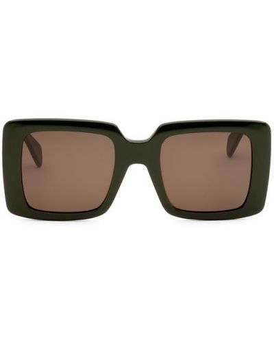 Зеленые солнцезащитные очки Céline Eyewear