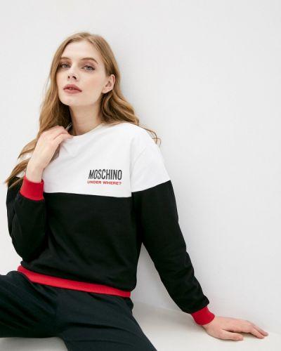 Свитшот - черный Moschino Underwear