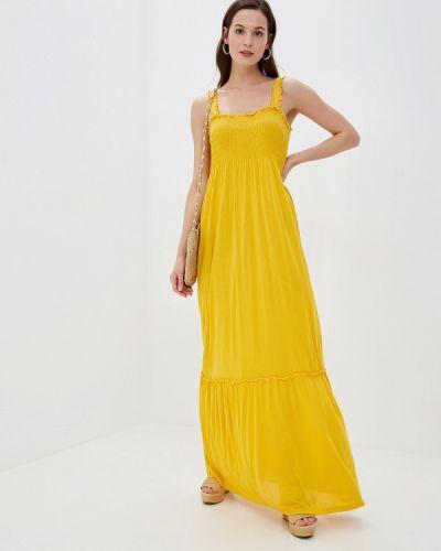 Сарафан турецкий желтый Vila