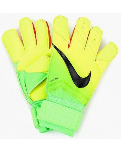 Зеленые перчатки Nike