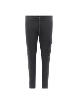 Серые кашемировые брюки Capobianco