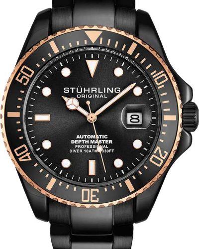 Черные спортивные часы Stuhrling