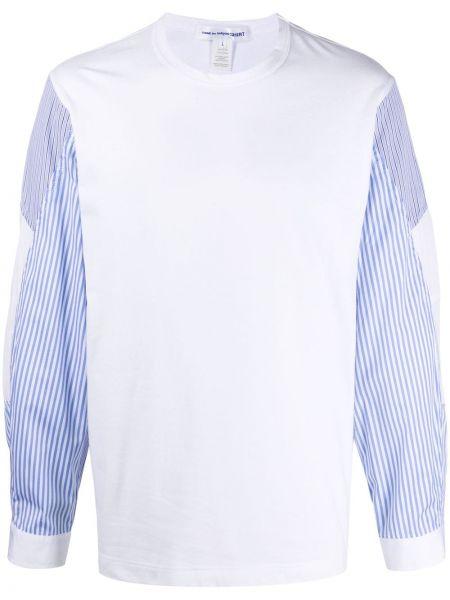 Biały t-shirt bawełniany do pracy Comme Des Garcons Shirt
