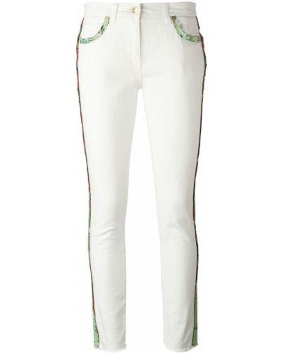 Укороченные джинсы с лампасами Etro