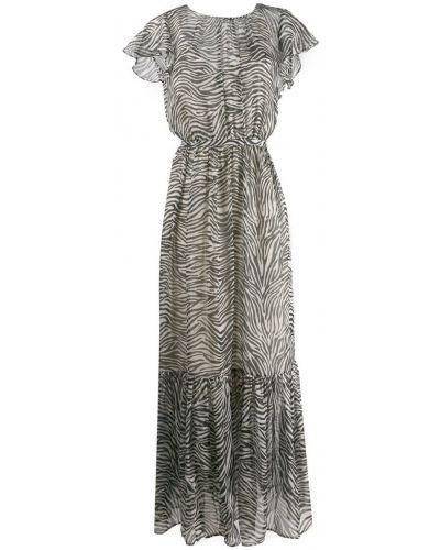 Платье макси с открытой спиной с вырезом Lautre Chose
