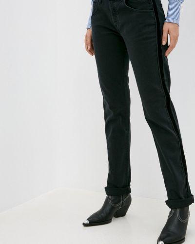 Прямые черные джинсы Replay