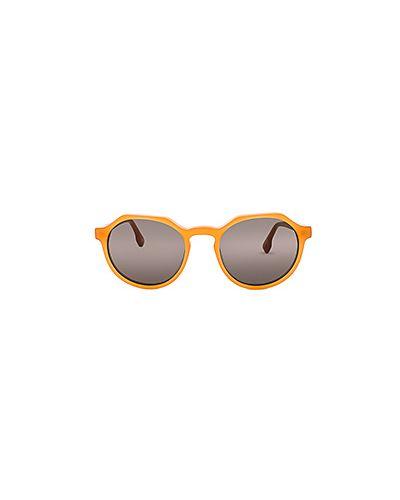Оранжевые солнцезащитные очки Le Specs Luxe