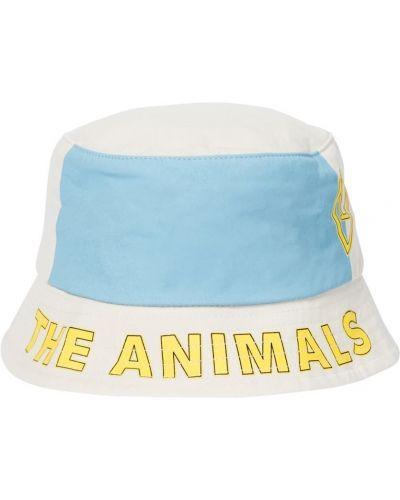 Bawełna biały bawełna kapelusz The Animals Observatory