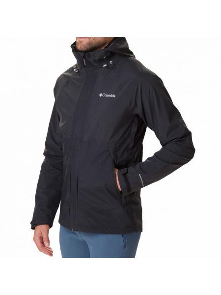 Брендовая черная куртка Columbia
