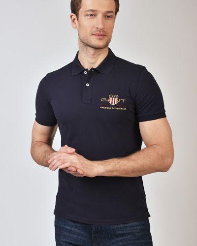 Хлопковая футболка Gant