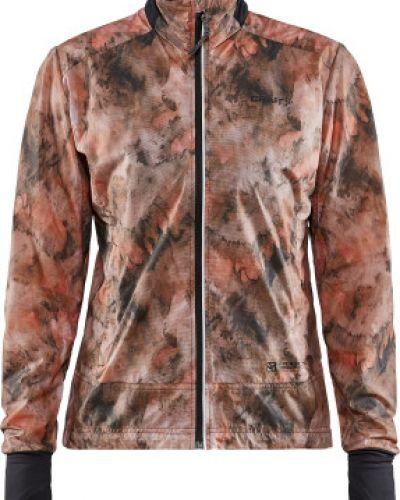 Розовая куртка для бега на молнии Craft