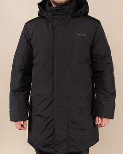 Черная куртка с воротником Normann