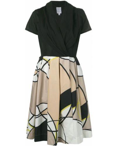 Платье рубашка - черное Sara Roka