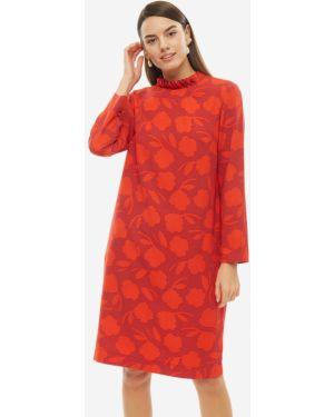 Платье миди с цветочным принтом Vera Moni
