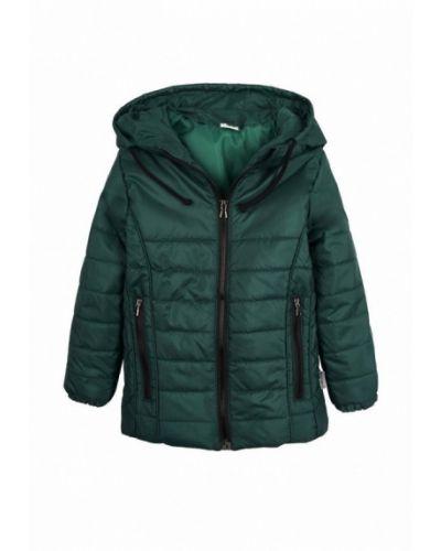 Куртка теплая зеленый Одягайко