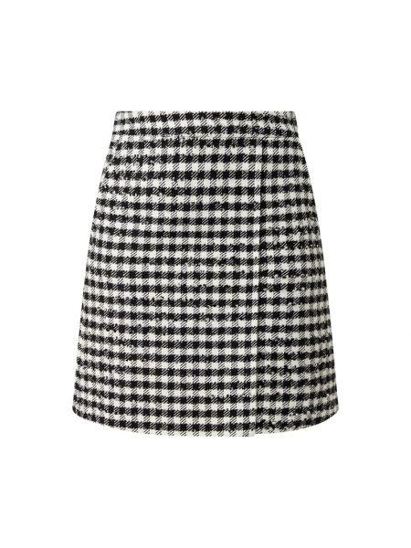 Czarna spódnica mini wełniana Riani