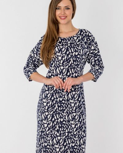 Повседневное платье синее S&a Style