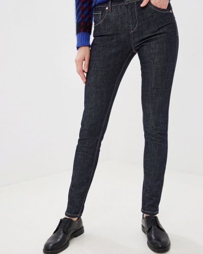 Прямые джинсы синие United Colors Of Benetton