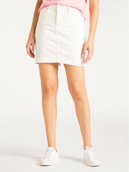Spódnica jeansowa - biała Lee