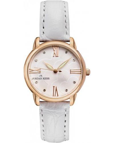 Biały złoty zegarek Jordan Kerr