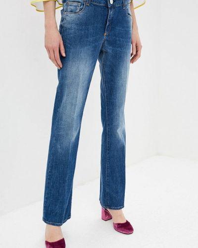 Широкие джинсы расклешенные mom Trussardi Jeans