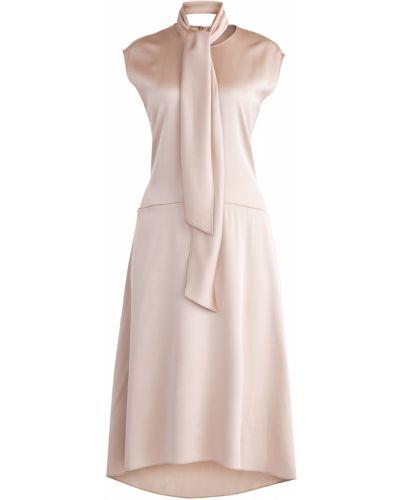 Платье на молнии из вискозы Agnona