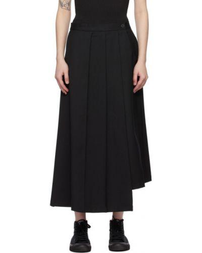 Asymetryczny czarny spódnica z kieszeniami Y-3