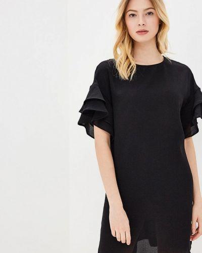 Черное платье весеннее Sweewe