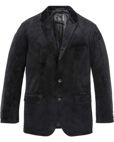 Костюм с карманами черный Bonprix