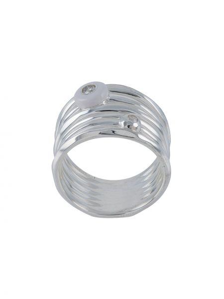 Pierścionek srebrny Ippolita