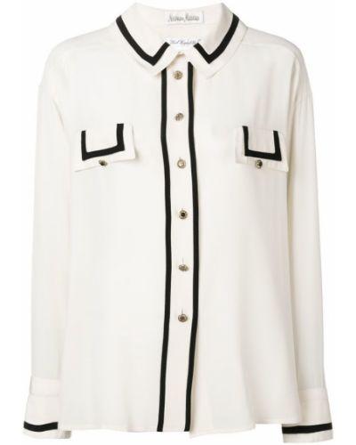 Свободная классическая рубашка винтажная на пуговицах с карманами Rewind Vintage Affairs