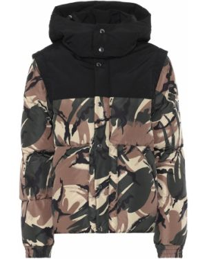 Зимняя куртка камуфляжная зеленая Woolrich