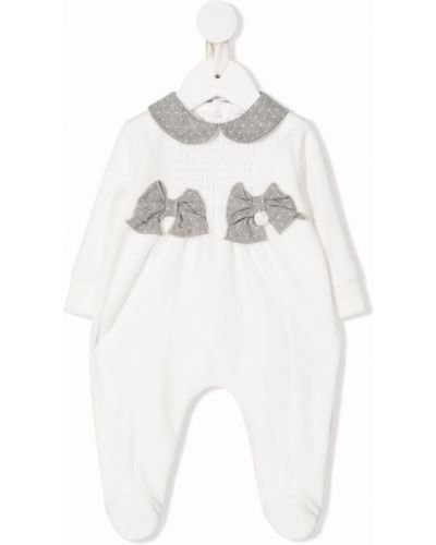 Kombinezon z długimi rękawami - biały Le Bebé Enfant
