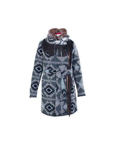 Пальто свободное из кролика осеннее Bazar Deluxe