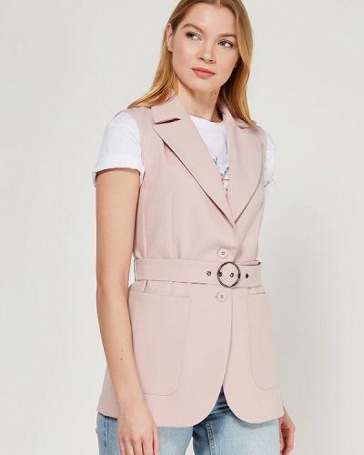 Розовая жилетка Zarina