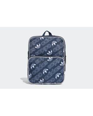 Klasyczny czerwony plecak na laptopa materiałowy Adidas