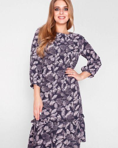 Фиолетовое повседневное платье Eliseeva Olesya