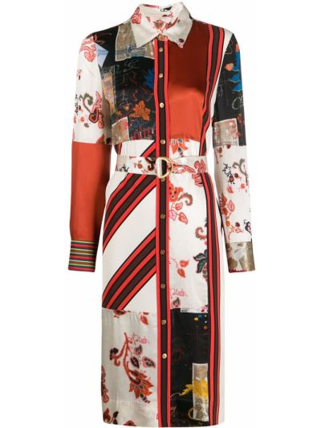 Деловое платье макси на пуговицах Tory Burch