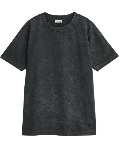 Szara koszulka oversize By Malene Birger