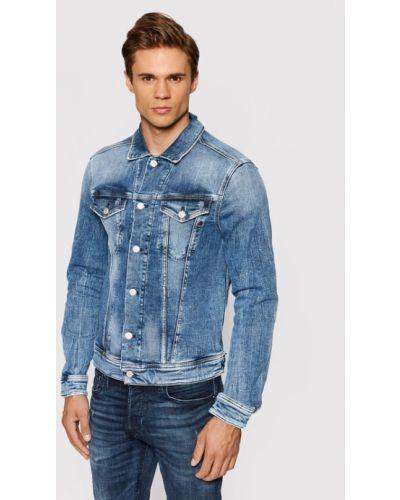 Niebieska kurtka jeansowa Replay