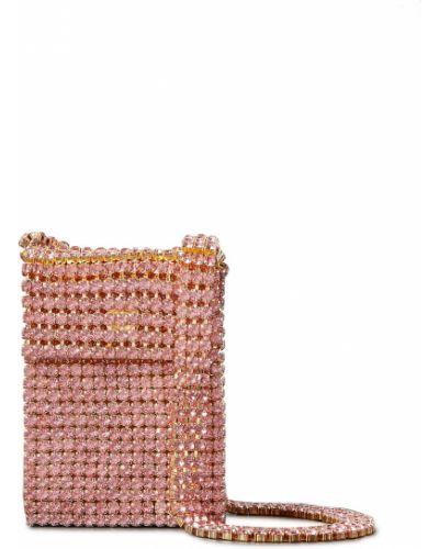 Różowa złota torba na ramię Area