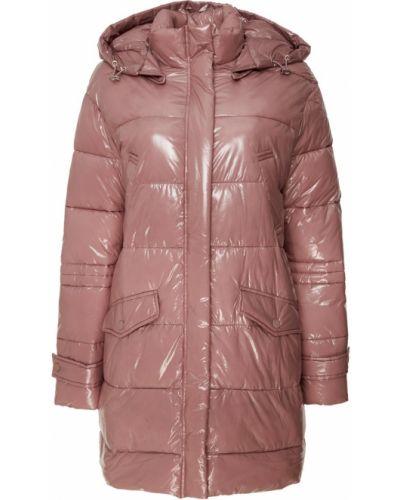 С рукавами розовая стеганая куртка Adolfo Dominguez