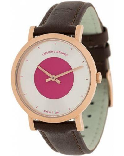 Часы с круглым циферблатом Larsson & Jennings