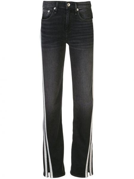 Прямые джинсы классические - черные Rag & Bone/jean