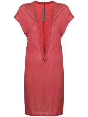Sukienka mini bawełniana Rick Owens
